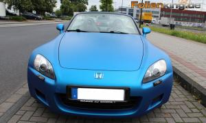 """Honda S2000: foliert in """"razor blue matt metallic"""""""