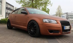 Audi A3 8P Mystic Bronze Matt Metallik