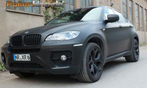"""BMW X6: Vollfolierung in """"schwarz matt"""""""