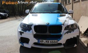BMW X6M: Vollfolierung inkl. Camouflage