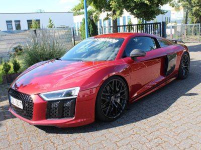 Audi R8: Schwellerbeschriftung