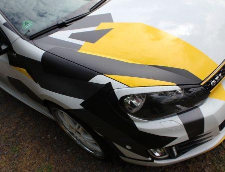 Golf 6 Cabrio Camouflage Design