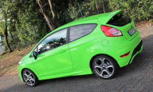Ford Fiesta ST in Hulk green