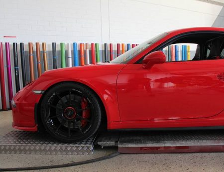 Porsche GT3 Lackschutzfolierung
