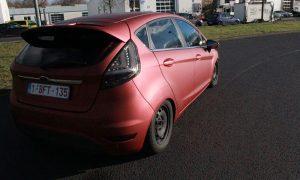 Ford Fiesta bordeaux-rot matt metallik