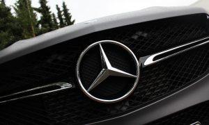 Mercedes GLE – Foliert in grau matt metallik