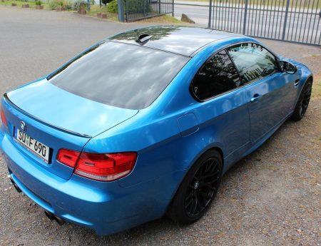BMW M3 blau glänzend metallik