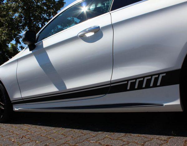 Mercedes C-Klasse Coupe AMG W507 Streifen