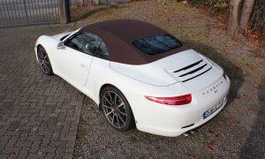 Porsche 991 Steinschlagschutzfolierung